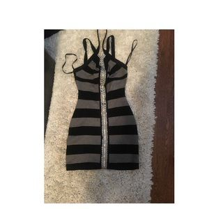Bebe body con dress